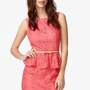 Forever 21 Coral lace dress